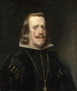 Felipe IV de Diego Velásquez