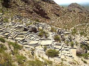 Ruinas del pueblo de Quilmes, asentamiento preincaico