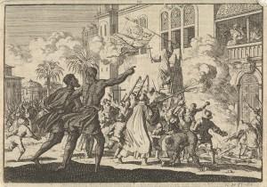 El Tumulto de México de 1624, Museo Rijksmueum (Holanda)