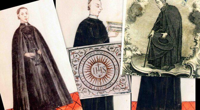 """Unos jesuitas """"chicos y gordos, largos y patudos, flacos y pansudos"""":"""